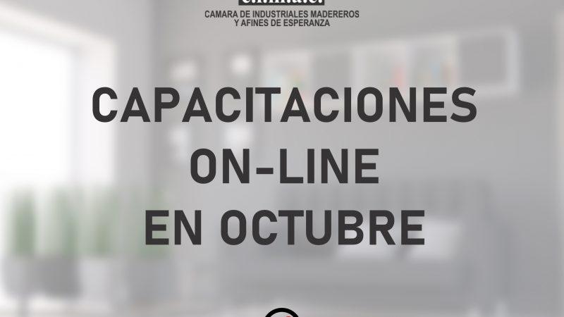 Cursos de OCTUBRE: capacitate on line y gratis